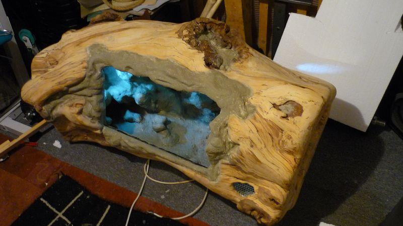 baumstamm terrarium das terrarium. Black Bedroom Furniture Sets. Home Design Ideas
