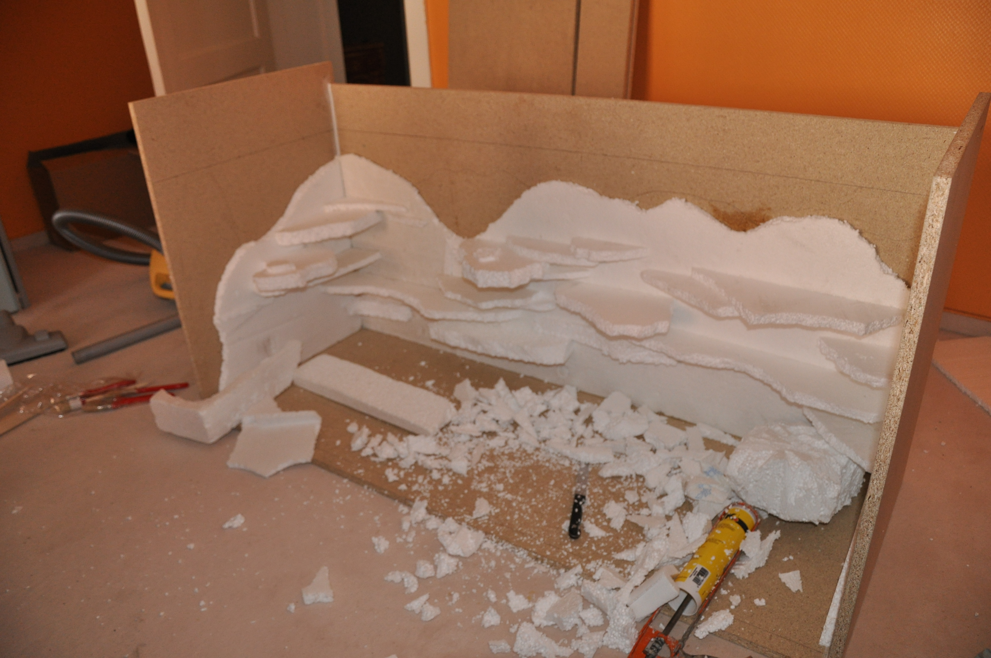 leopardgecko terrarienbau das terrarium. Black Bedroom Furniture Sets. Home Design Ideas